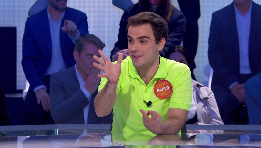 """Las cuentas de Pablo para superar todos los récords de 'Pasapalabra': """"Es justo el programa en el que habría un millón de euros"""""""