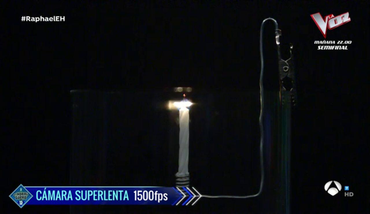 Apagar velas con música: la ciencia musical de Marron con la que sorprende a Raphael en 'El Hormiguero 3.0'