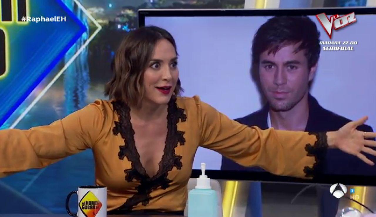 """Tamará Falcó, sobre Enrique Iglesias al ver la teta de Sabrina en la Nochevieja del 1987: """"Mi hermano se aceleró hacia la tele y la abrazó"""""""
