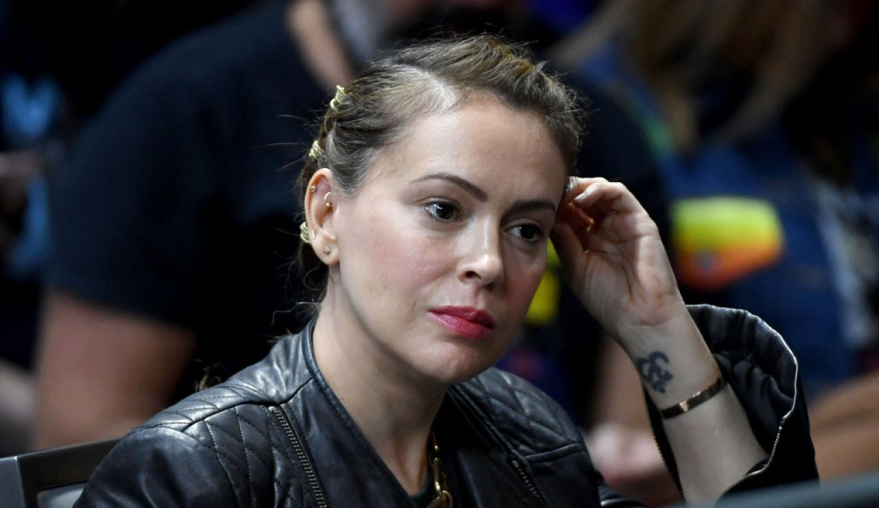 La actriz Alyssa Milano