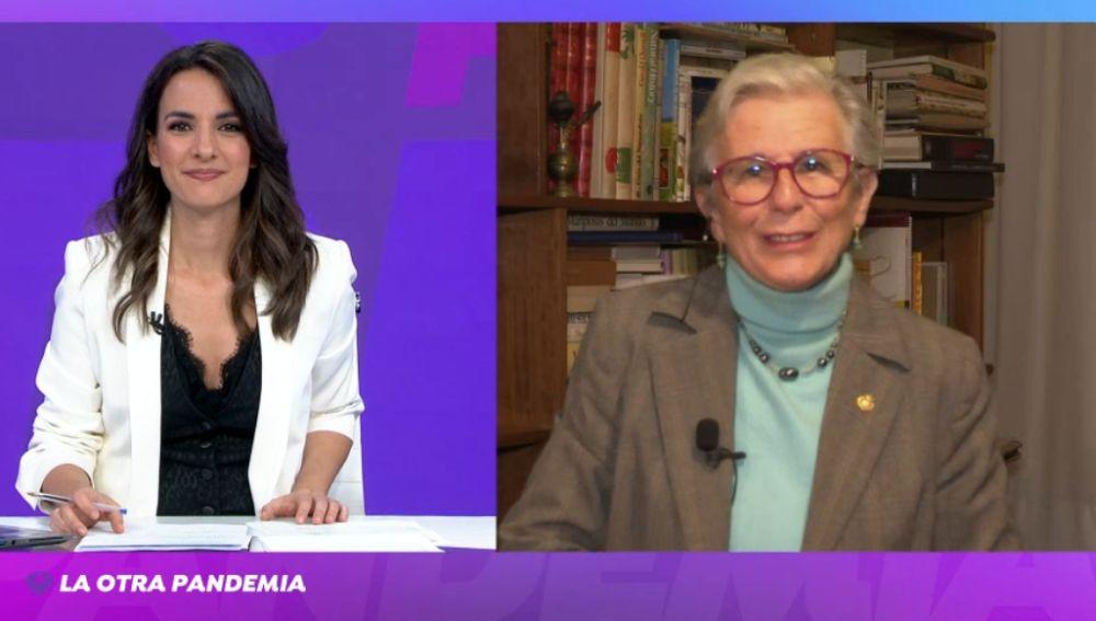María Castellano, en el especial de Antena 3 Noticias