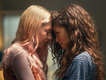 Zendaya y Hunter Schafer en 'Euphoria'
