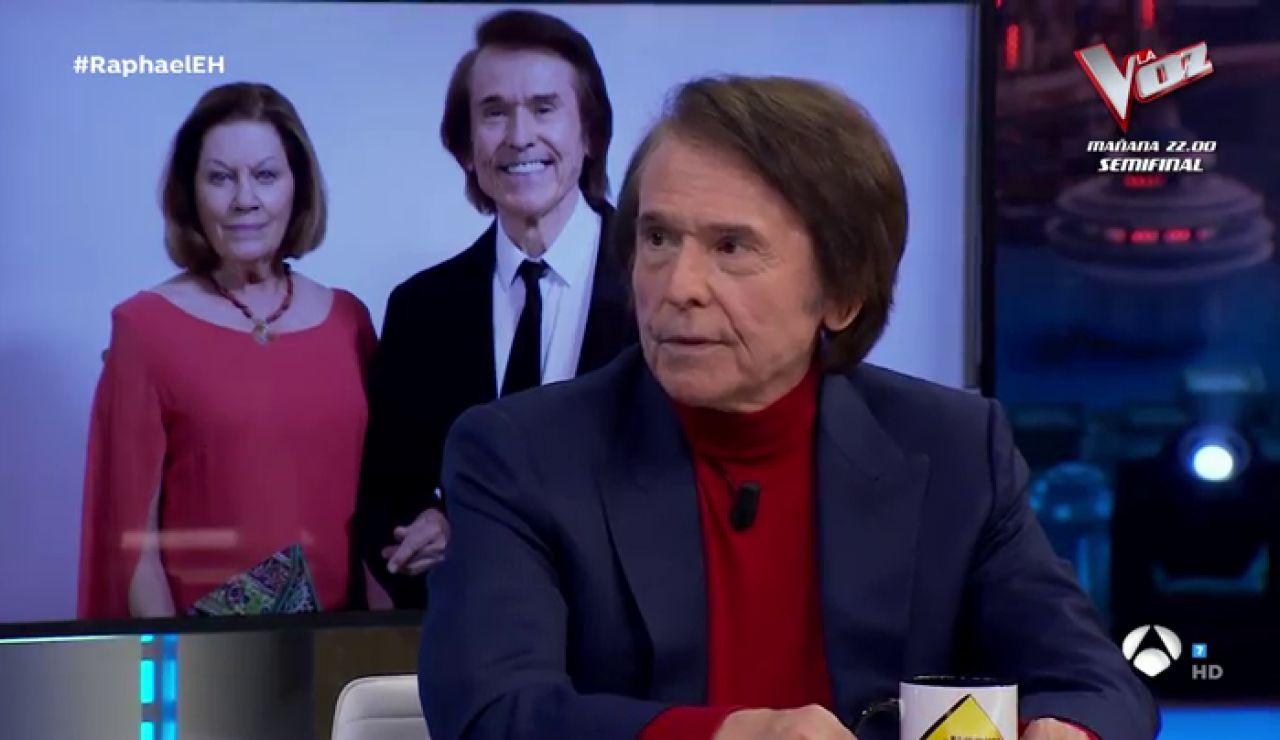 ¿Qué cualidades tiene que tener una pareja para durar en el tiempo? Raphael contesta tras 50 años al lado de su mujer, Natalia