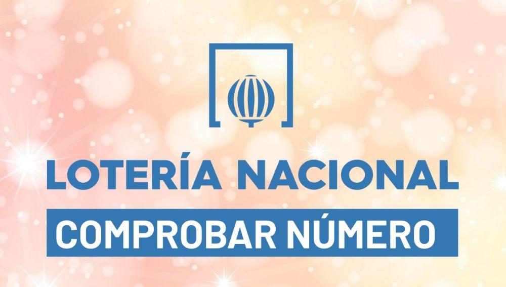Comprobar número del sorteo de la Lotería Nacional hoy en directo