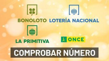 Resultado lotería hoy: Comprobar Lotería Nacional, La Primitiva, Cupón Diario de la ONCE y Bonoloto de hoy en directo