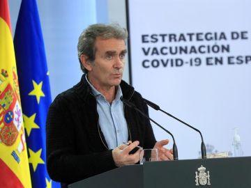 Rueda de prensa de Fernando Simón, streaming en directo