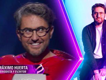 Máxim Huerta es la gamba de Mask Singer