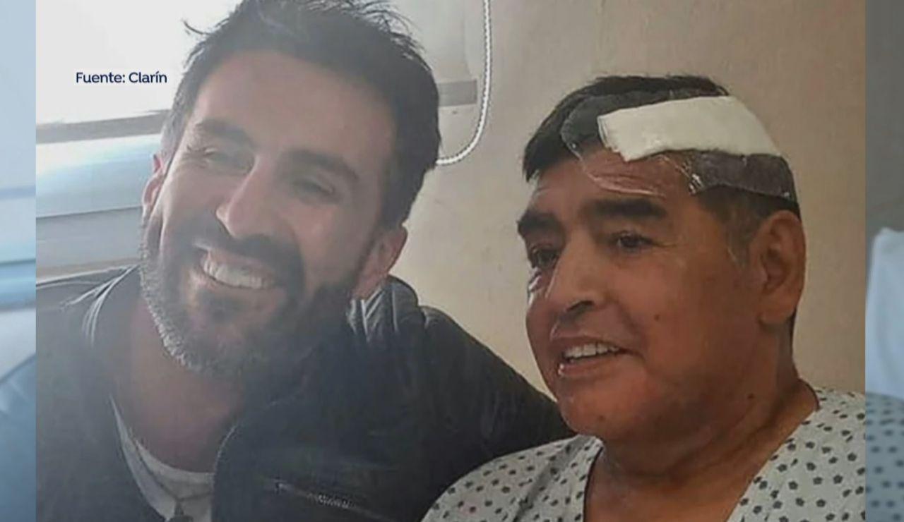 La última foto de Maradona