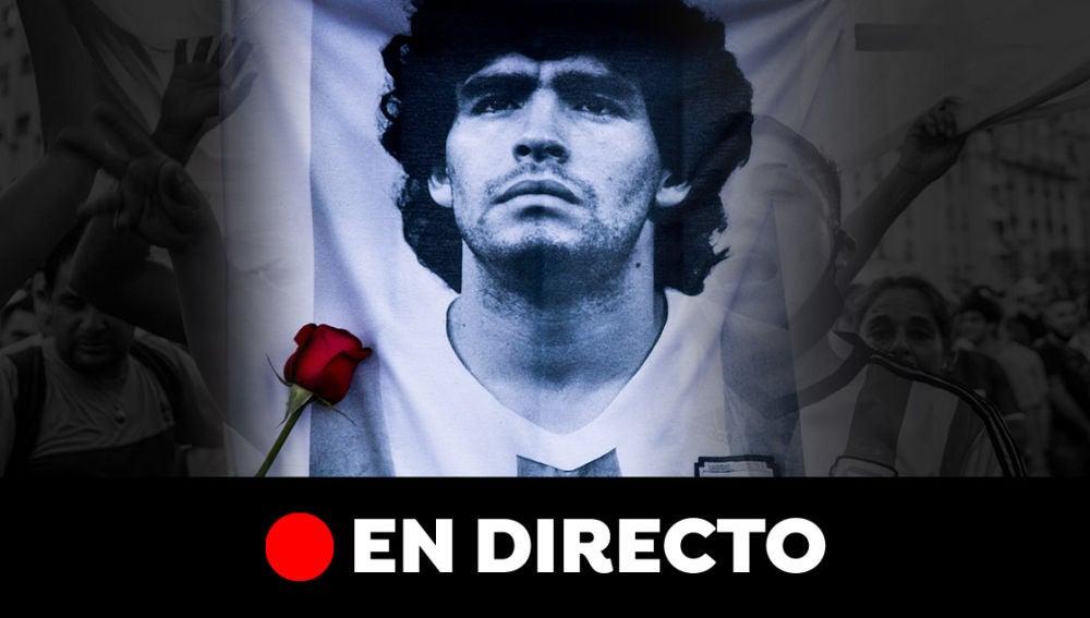 Muere Maradona: Última hora, velatorio y reacciones, en directo