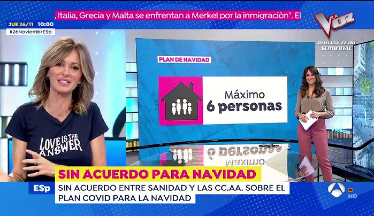 Navidad con coronavirus: Espejo Público analiza qué celebración quiere cada comunidad autónoma