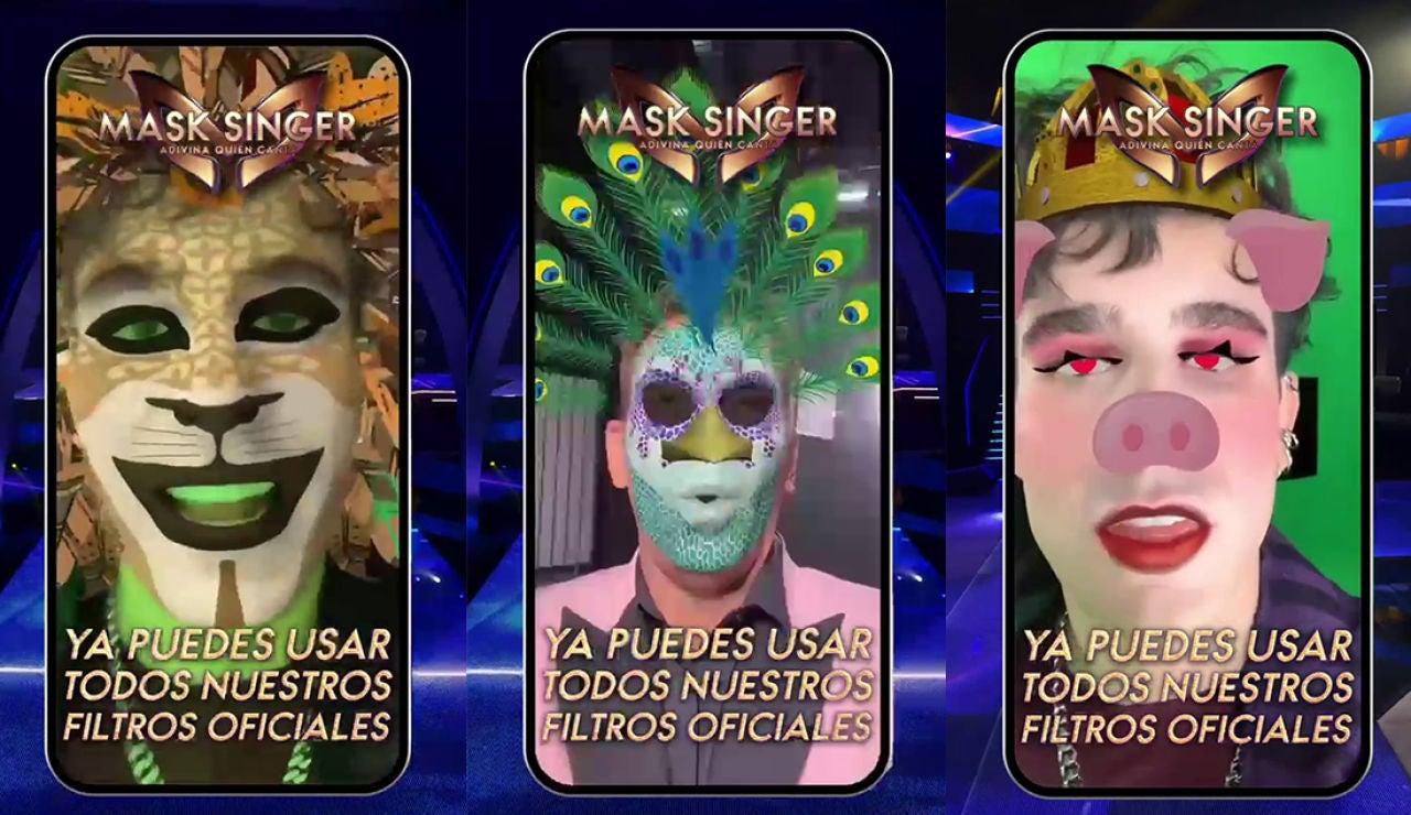 Atrévete con los fantásticos filtros de las máscaras de 'Mask Singer'
