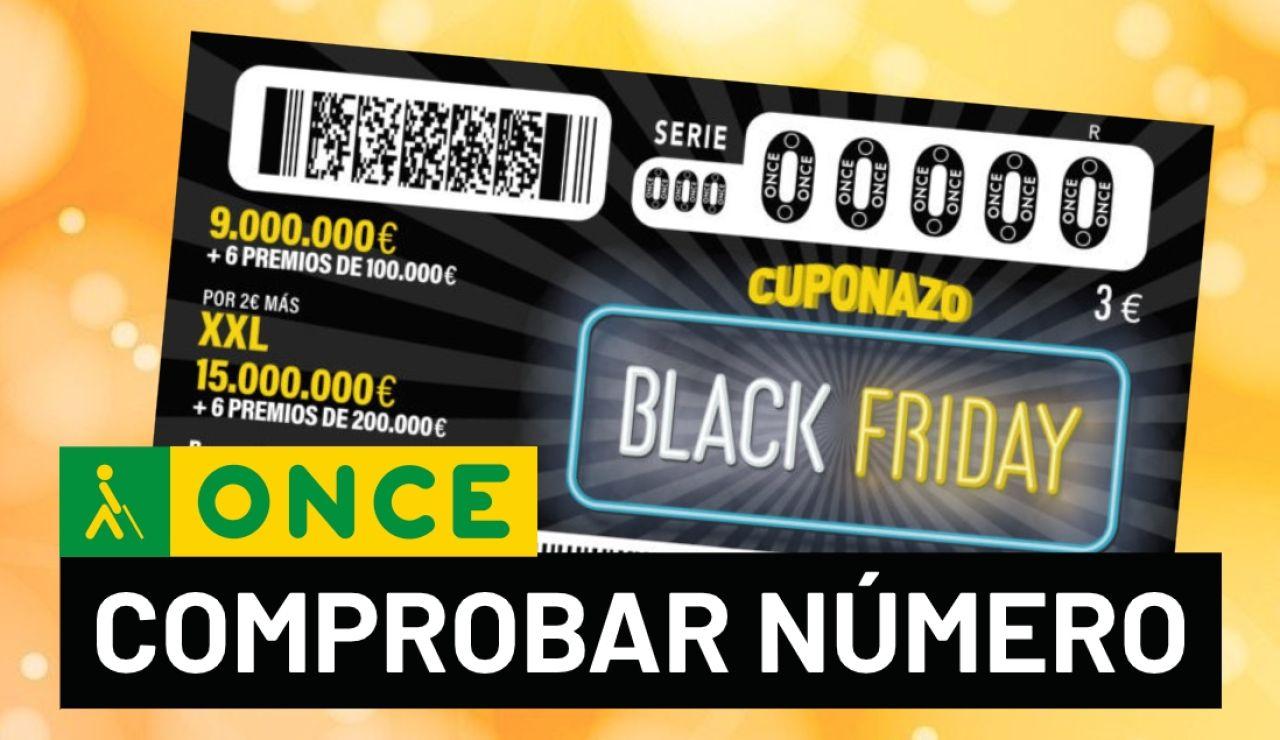 Resultado del sorteo del Cuponazo del Black Friday de la ONCE 2020: Comprobar número de hoy 27 de noviembre