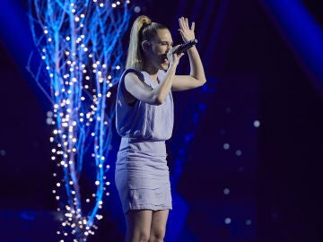 Johanna Polvillo canta 'All by my self' en la Semifinal de 'La Voz'