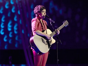 Paula Espinosa canta 'You're beautiful' en la Semifinal de 'La Voz'