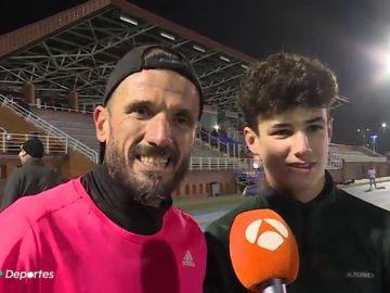 """Nico, el hijo de Chema Martínez que ya es más rápido que su padre: """"Ya no soy el más rápido en casa"""""""