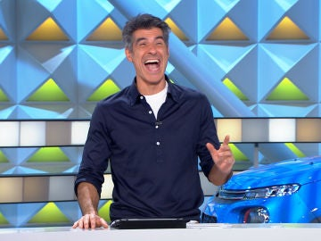 El divertido despiste de Jorge Fernández para nombrar a un gajo de 'La ruleta de la suerte'