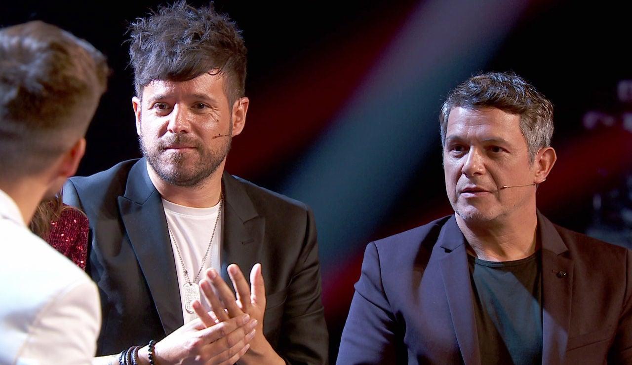 La reacción de Alejandro Sanz y Pablo López tras quedarse sin talents en la Gran Final de 'La Voz'