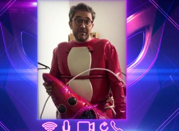 Máximo Huerta revela exclusiva la cara menos amable de su participación como Gamba en 'Mask Singer'
