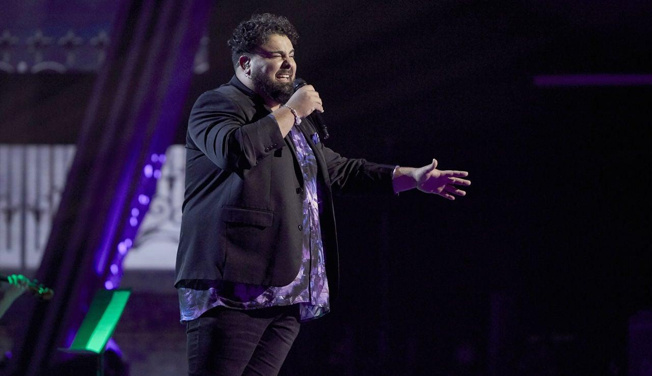 Rafael Ruiz canta 'El trato' en la Semifinal de 'La Voz'