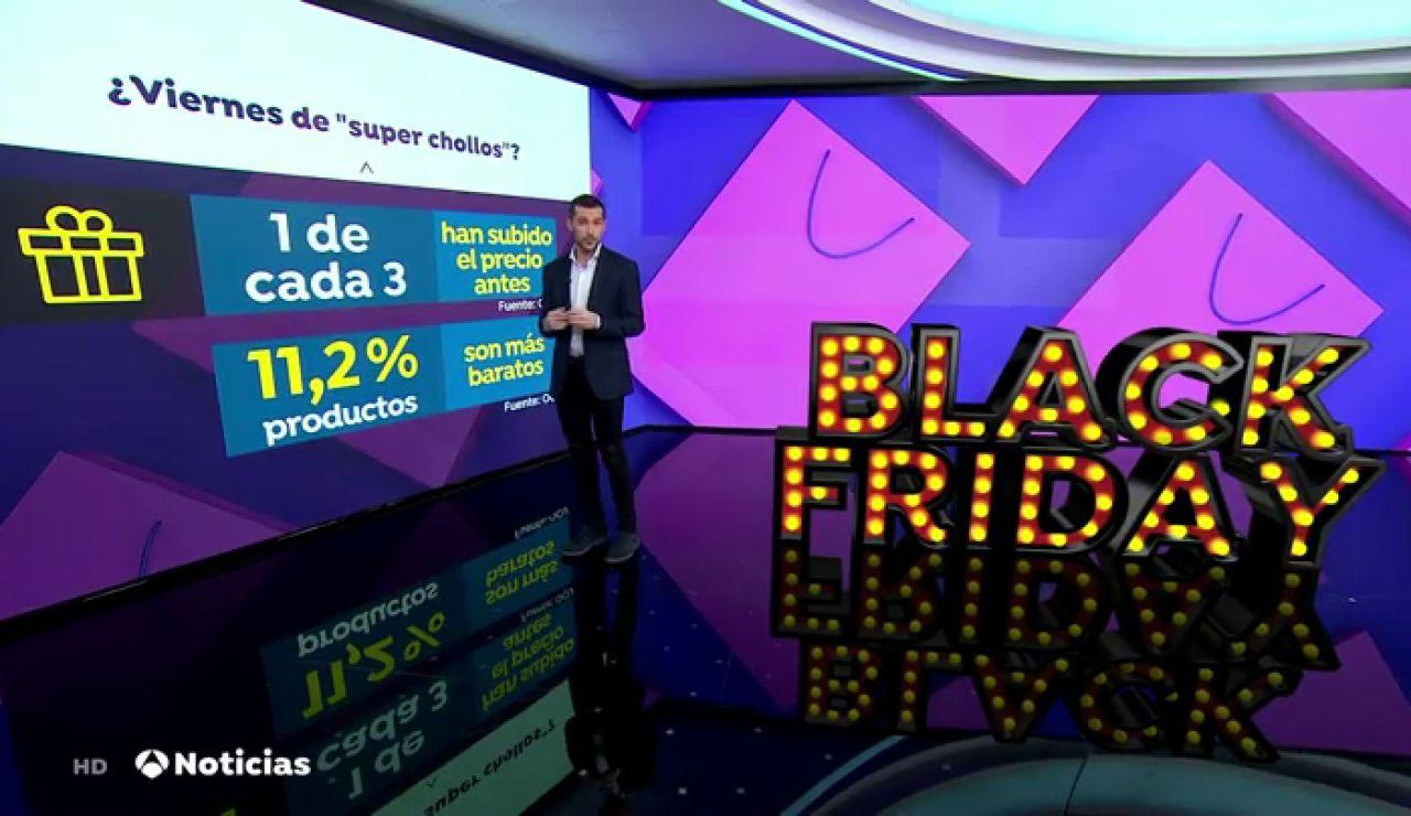 Los engaños en las ofertas del Black Friday: sólo un 11% de lo que se vende es realmente más barato