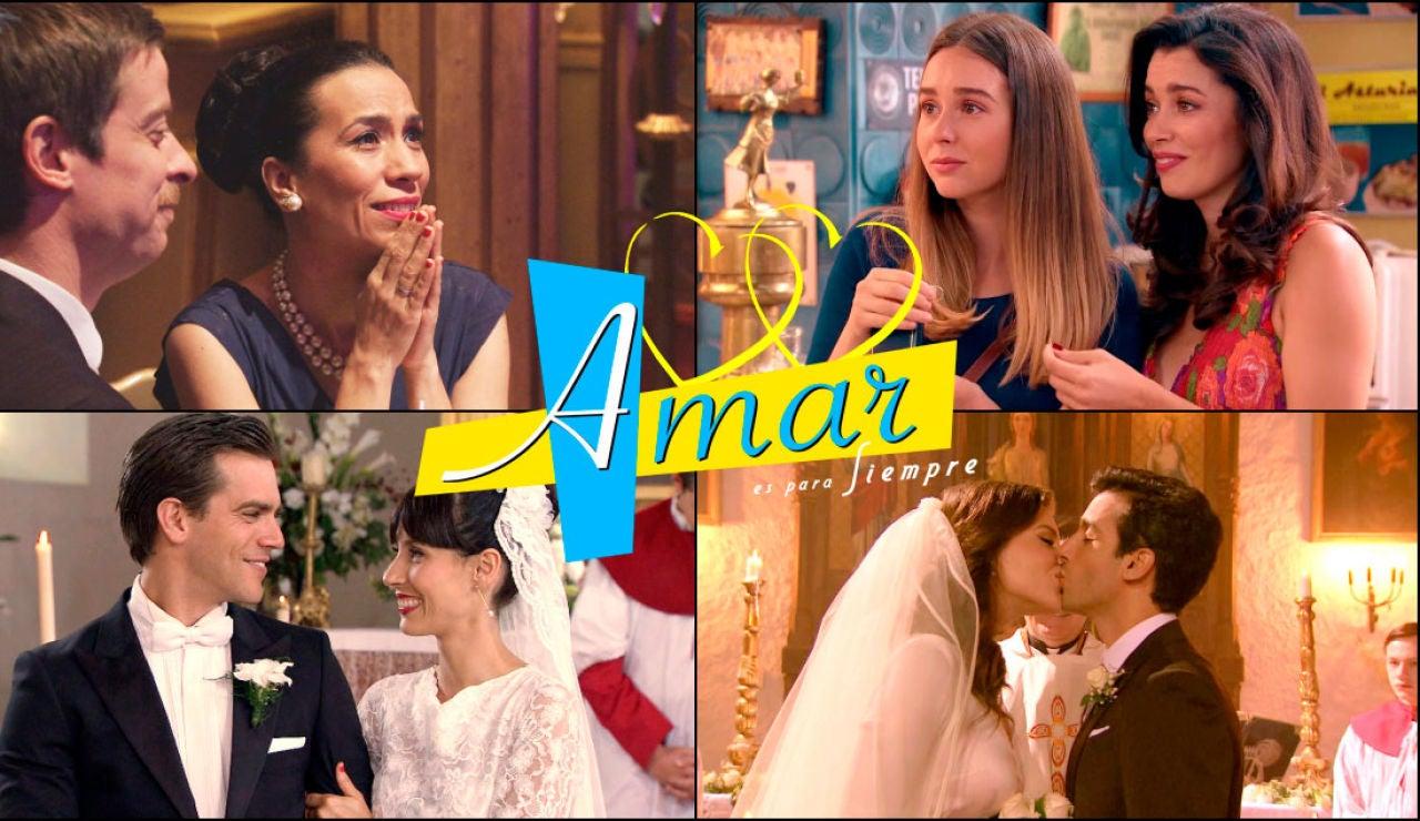 Celebramos los 2.000 capítulos recordando las mejores bodas de 'Amar es para siempre'