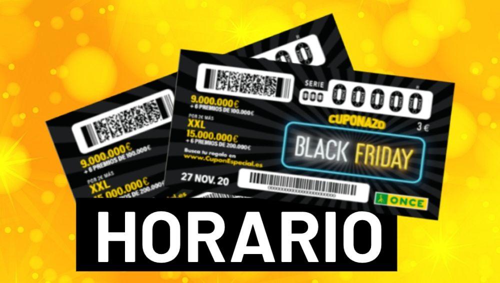 ONCE Cuponazo Black Friday 2020: Horario y dónde ver el sorteo de hoy 27 de noviembre