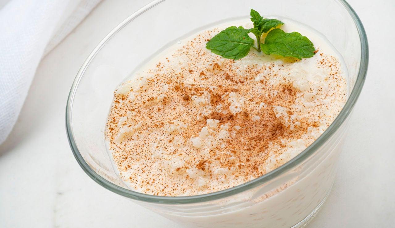 Receta de arroz con leche exprés, de Karlos Arguiñano