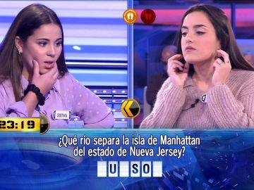 No se conformaba con 10.000 euros: Berta se la juega al doble o nada en '¡Ahora caigo!'
