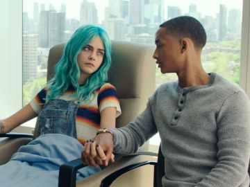 Cara Delevingne y Jaden Smith en 'Life in a Year'