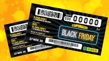 Cuponazo Black Friday ONCE 2020: Premios del sorteo y probabilidades