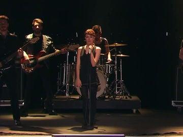 Nerea Rodríguez como Nena Daconte en 'Tu cara me suena'