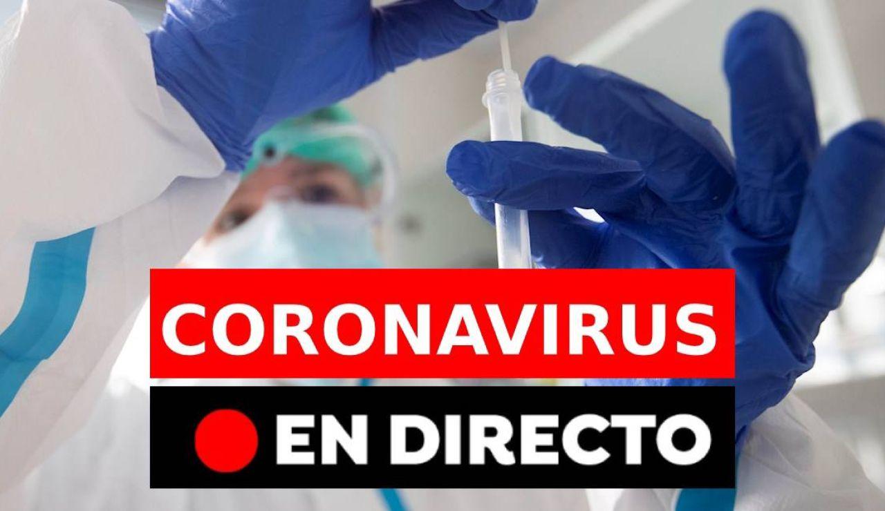 Coronavirus hoy: Contagios, confinamiento y vacunas en España, en directo