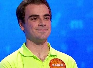 El gran enfado de Pablo tras un error que no ha pasado por alto en 'El Rosco' de 'Pasapalabra'