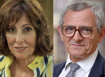 María Barranco e Iñaki Miramón, Teresa y Quintero en 'Amar es para siempre'