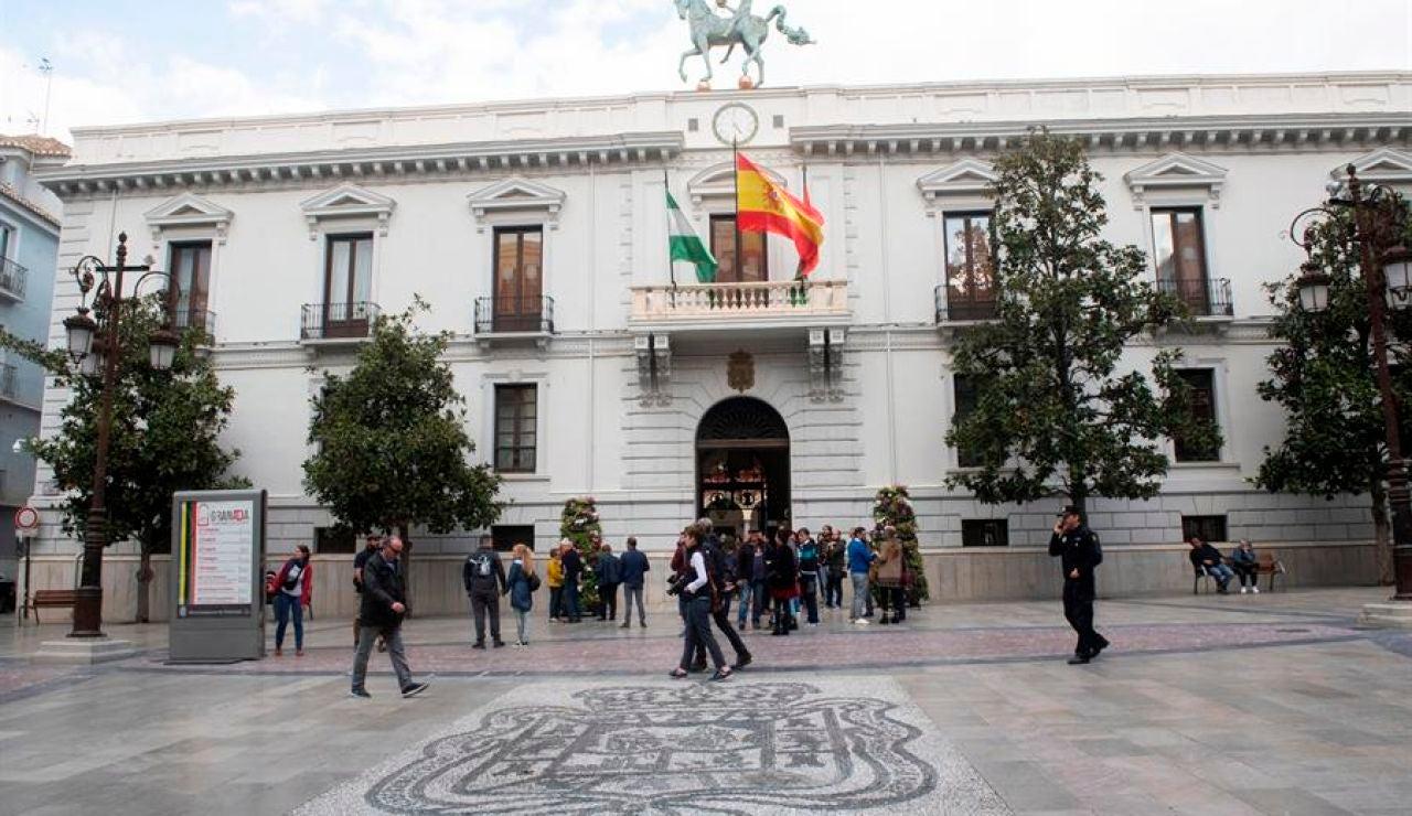 Fachada del Ayuntamiento de Granada