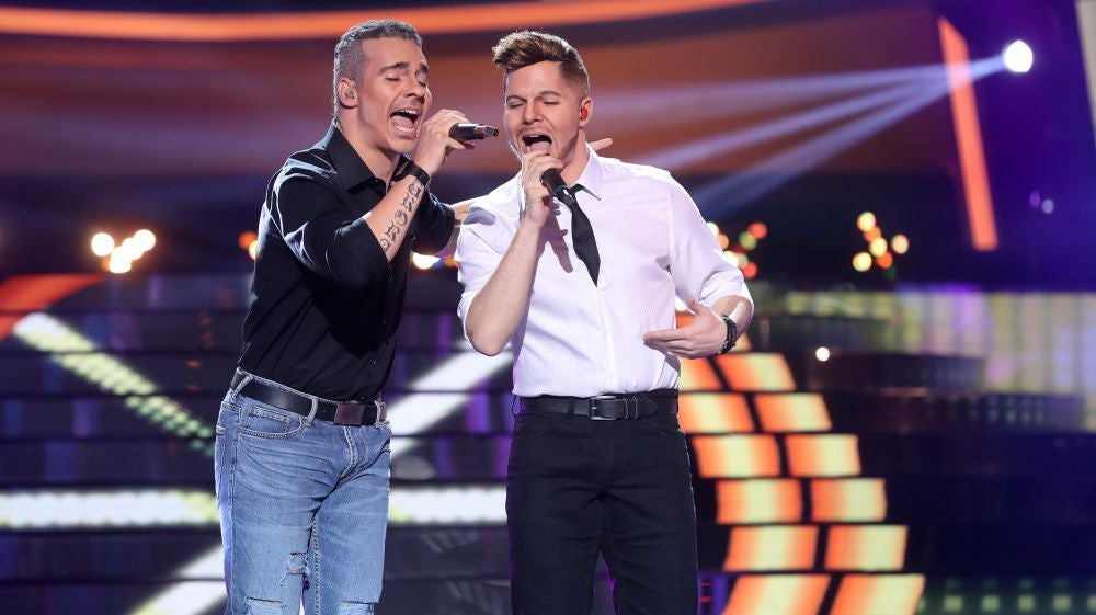 Gemeliers, pura energía con 'No estamos solos' como Ricky Martín y Eros Ramazzotti