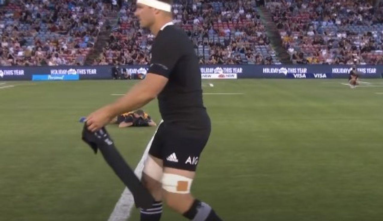 Sam Cané, capitán de la Selección de Nueva Zelanda de rugby