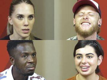 Los cuatro finalistas de 'La Voz' se retan a contrarreloj en el 'Abecedario Challenge' de 'La Voz'