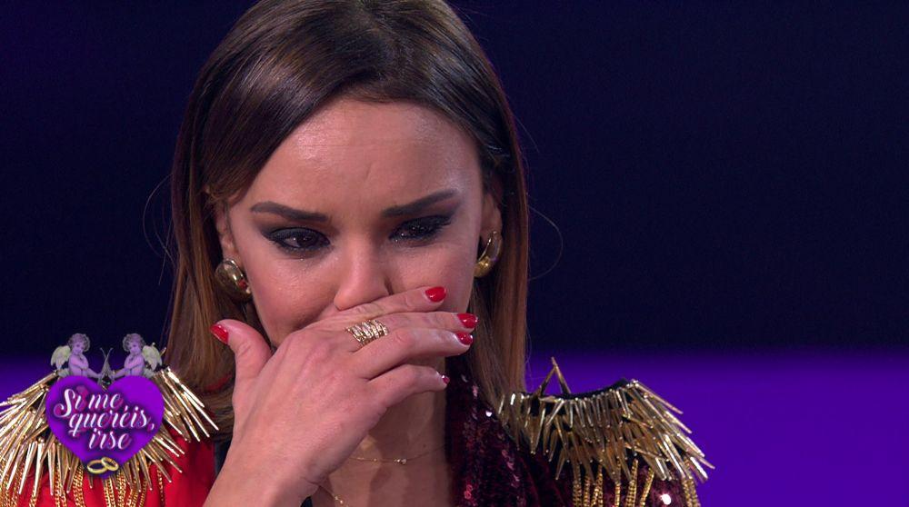 Chenoa estalla en lágrimas después de que Àngel Llàcer se postule como padrino para su boda en 'Tu cara me suena'