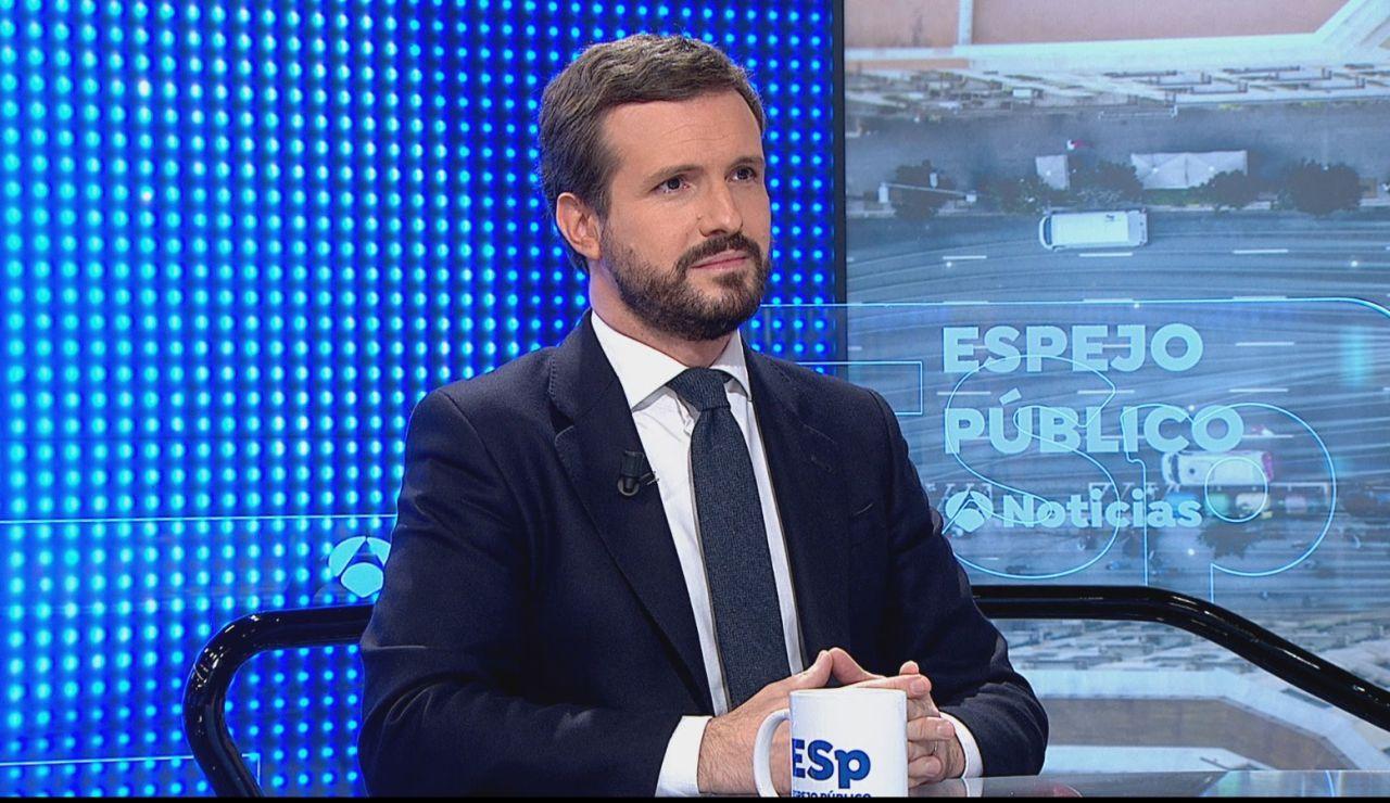 """Pablo Casado: """"No hay paraíso fiscal en Madrid, lo que hay es invierno fiscal en las CC.AA donde gobierna la izquierda y los nacionalistas"""""""