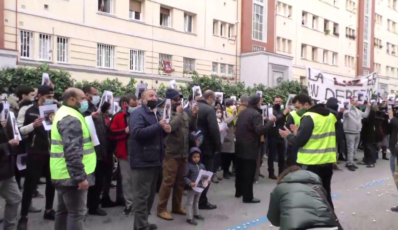 Cañada Real protesta