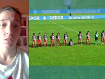 Paula Dapena, la futbolista que se negó a homenajear a Maradona