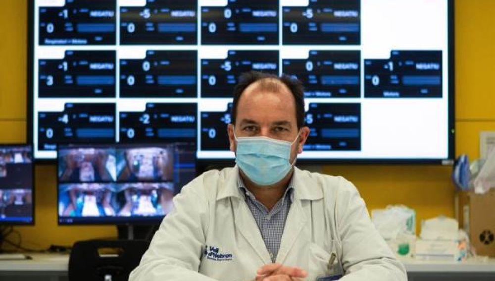 Ricard Ferrer, presidente médicos UCI en España