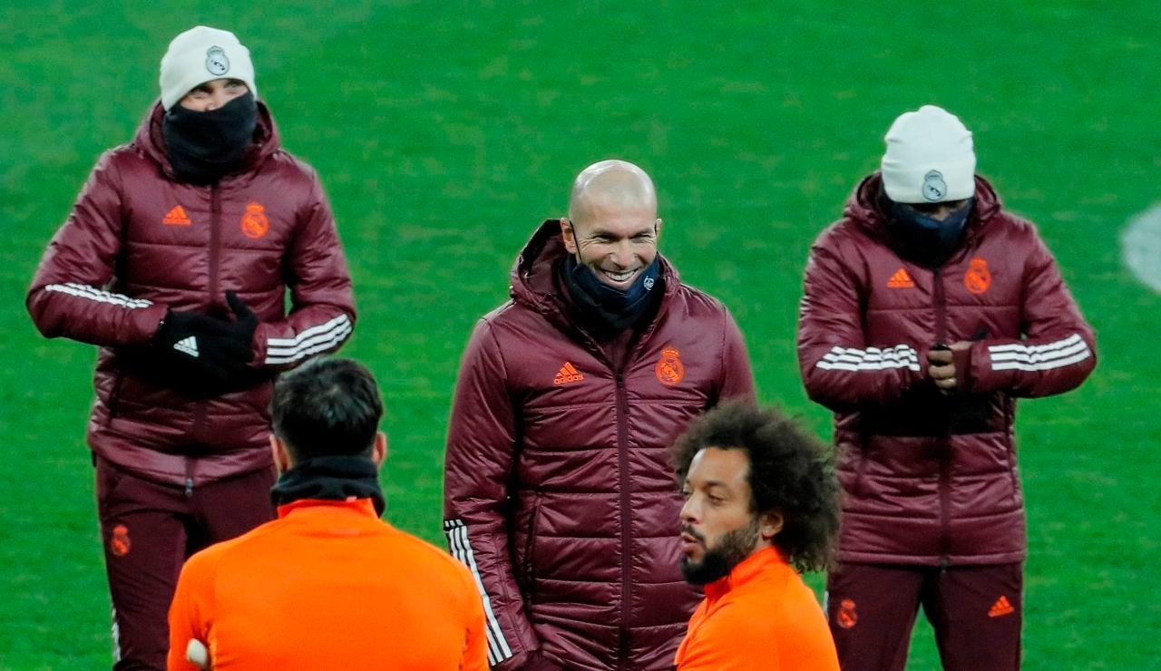 """Zidane, sobre la lesión de Hazard: """"Es una lesión más para él y lo está pasando mal"""""""