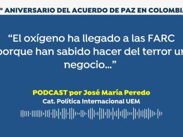 PODCAST: Incertidumbre en el cuarto aniversario del acuerdo definitivo de paz en Colombia