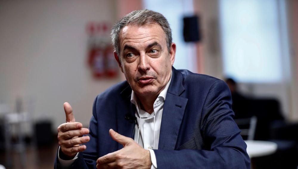 """A3 Noticias 1 (30-11-20) José Luis Rodríguez Zapatero aconseja a Pedro Sánchez desoír a Felipe González y Alfonso Guerra: """"El ruido no confunde"""""""