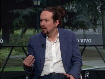 """Pablo Iglesias destaca el """"recorrido ético"""" de Bildu en contraposición al del PP y Vox"""
