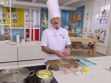 Karlos Arguiñano nos aconseja otras recetas con las que combinar la salsa holandesa