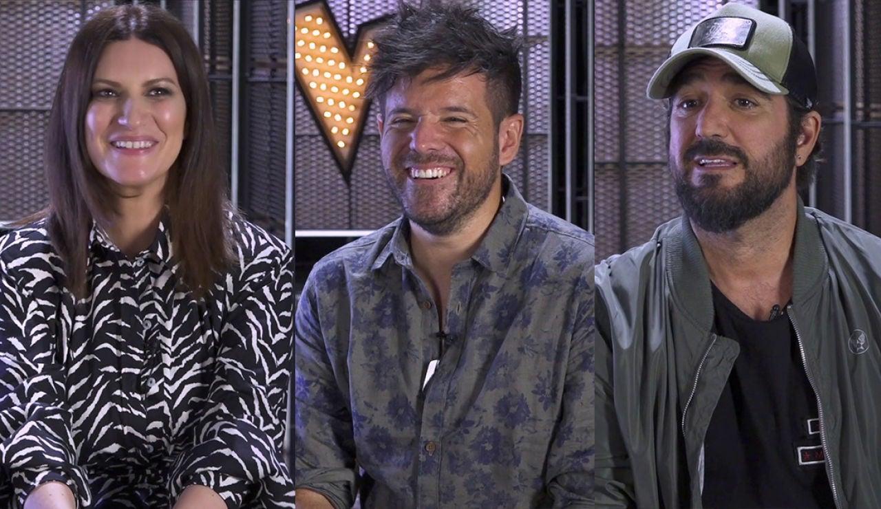 Los coaches de 'La Voz' recomiendan un artista para cada día de la semana