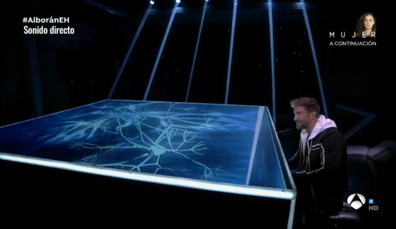Pablo Alborán canta al piano 'Si hubieras querido' en directo en 'El Hormiguero 3.0'